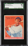 Baseball Cards:Singles (1930-1939), 1933 Goudey Babe Ruth #149 SGC 84 NM 7....