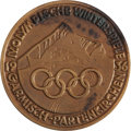 Miscellaneous Collectibles:General, 1936 Garmisch Winter Olympic Games Participation Medal. ...
