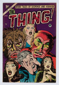 Golden Age (1938-1955):Horror, The Thing! #10 (Charlton, 1953) Condition: FN-....
