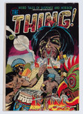 Golden Age (1938-1955):Horror, The Thing! #6 (Charlton, 1953) Condition: VG/FN....