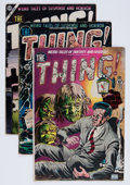 Golden Age (1938-1955):Horror, The Thing! #1, 4, and 16 Group (Charlton, 1952-54).... (Total: 3Items)