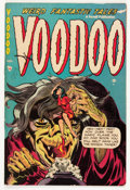 Golden Age (1938-1955):Horror, Voodoo #12 (Farrell, 1953) Condition: VG/FN....
