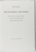 Books:Fine Press & Book Arts, [Limited Editions Club]. SIGNED LIMITED EDITION. Alejo Carpentier.The Kingdom of This World. Limited Editions C...