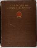 Books:Art & Architecture, John Singer Sargent. The Work of John S. Sargent. Heinemann, 1903. First edition, English issue. Folio. Binding heav...