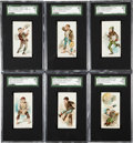 "Non-Sport Cards:Sets, 1888 N88 Duke ""Terrors of America"" Partial Set (25/50). ..."
