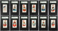 """Non-Sport Cards:Sets, 1889 N91 Duke """"Yacht Colors of the World"""" Near Set (48/50). ..."""