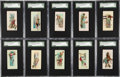 "Non-Sport Cards:Sets, 1888 N86 Duke ""Scenes of Perilous Occupations"" Near Set (43/50)...."