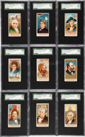 "Non-Sport Cards:Sets, 1888 N76 Duke ""Great Americans"" Near Set (40/50)...."