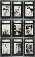 "Non-Sport Cards:Sets, 1939 Ardath ""Real Photographs Series 2"" SGC High Grade Complete Set(44). ..."