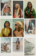 Non-Sport Cards:Lots, Vintage Native American Post Card Collection (52). ...