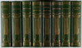Books:Fine Bindings & Library Sets, George Eliot. [Works]. Estes, [n.d., ca. 1900]. Illustrated Sterling Edition. Complete in eight octavo volumes. ... (Total: 8 Items)