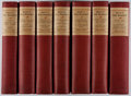 Books:Fine Bindings & Library Sets, Ivan Turgenieff. Works. Jefferson Press, [1903]. Edition de Luxe. Complete in seven octavo volumes. Some toning, mil... (Total: 7 Items)