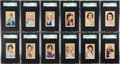 "Non-Sport Cards:Sets, 1939 Rothmans ""Beauties of the Cinema"" Cards"" Complete Set (40) -#2 on the SGC Set Registry. ..."