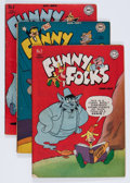 Golden Age (1938-1955):Funny Animal, Funny Folks Group (DC, 1946-50).... (Total: 31 Comic Books)