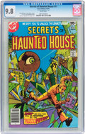 Bronze Age (1970-1979):Horror, Secrets of Haunted House #11 (DC, 1978) CGC NM/MT 9.8 Whitepages....