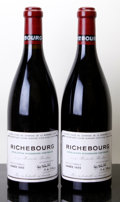 Red Burgundy, Richebourg 1999 . Domaine de la Romanee Conti . #00613,00615. Bottle (2). ... (Total: 2 Btls. )