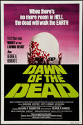 "Movie Posters:Horror, Dawn of the Dead (United Film Distribution, 1978). One Sheet (27"" X 41"") Green Style. Horror.. ..."