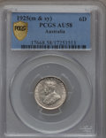 Australia, Australia: Lot of Two High Grade silver Coins,... (Total: 2 items)