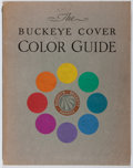 Books:Books about Books, Faber Birren. The Buckeye Cover Color Guide. Beckett Paper Company, 1933. First edition. Publisher's original pr...
