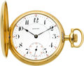 Timepieces:Pocket (post 1900), E. Howard Watch Co. 16 Size 14k Gold Series 9, circa 1905. ...