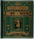 Books:Literature Pre-1900, Alfred Tennyson. The May Queen. Frederick Warne and Co.,[N.d.]. First edition thus. Publisher's pictorial bevel...