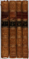 Books:Literature Pre-1900, [Philip Massinger]. The Dramatick Works of Philip MassingerComplete, in Four Volumes. T. Davies, T. Payne, J. N... (Total:4 Items)