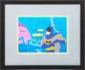 Animation Art:Limited Edition Cel, Batman Animation Cel (1970s)....