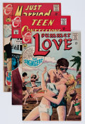 Silver Age (1956-1969):Romance, Charlton Silver Age Romance File Copies Group (Charlton, 1960s)Condition: Average VF/NM.... (Total: 22 Comic Books)