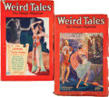 Pulps:Horror, Weird Tales Group (Popular Fiction, 1928).... (Total: 2 Items)
