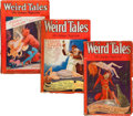 Pulps:Horror, Weird Tales (Popular Fiction, 1929).... (Total: 3 Comic Books)