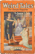 Pulps:Horror, Weird Tales - October '27 (Popular Fiction, 1927) Condition:GD/VG....