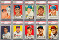 Baseball Cards:Sets, 1952 Topps Baseball Low and Middle Series Complete Set (1-310). ...