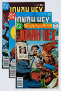 Bronze Age (1970-1979):Western, Jonah Hex #3, 5, and 6 Group (DC, 1977-80) Condition: Average NM.... (Total: 4 Comic Books)