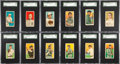 Baseball Cards:Sets, 1914-16 T213 Coupon Cigarettes Type 2 Partial Set (118). ...