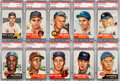 Baseball Cards:Sets, 1953 Topps Baseball Solid Middle Grade Complete Set (274). ...