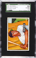 Baseball Cards:Singles (1950-1959), 1951 Bowman Willie Mays #305 SGC 82 EX/NM+ 6.5....