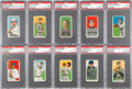 Baseball Cards:Lots, 1909-11 T206 White Borders Collection (60) With 40 Sovereign Backs!...