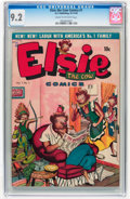 Golden Age (1938-1955):Funny Animal, Elsie the Cow #1 (D.S. Publishing, 1949) CGC NM- 9.2 Cream tooff-white pages....