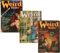 Pulps:Horror, Weird Tales Group (Popular Fiction, 1939) Condition: Average VG....(Total: 4 Comic Books)
