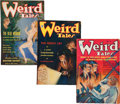 Pulps:Horror, Weird Tales Group (Popular Fiction, 1935) Condition: Average VG....(Total: 4 Comic Books)