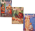 Pulps:Horror, Weird Tales Group (Popular Fiction, 1938) Condition: Average VG....(Total: 5 Comic Books)