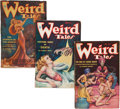 Pulps:Horror, Weird Tales Group (Popular Fiction, 1935) Condition: Average VG....(Total: 5 Comic Books)