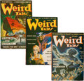 Pulps:Horror, Weird Tales Group (Popular Fiction, 1941-47) Condition: Average VG.... (Total: 9 Comic Books)
