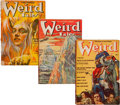Pulps:Horror, Weird Tales Group (Popular Fiction, 1939) Condition: Average VG....(Total: 6 Comic Books)