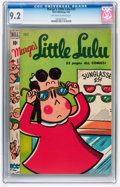 Golden Age (1938-1955):Humor, Marge's Little Lulu #25 (Dell, 1950) CGC NM- 9.2 Off-white to white pages....