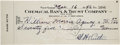 Autographs:Checks, 1942 Babe Ruth Signed Check....