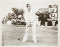 Golf Collectibles:Autographs, Circa 1930 Walter Hagen Signed Photograph....