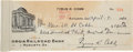 Autographs:Checks, 1930 Ty Cobb Signed Check to His Mother, Endorsed by Her!...