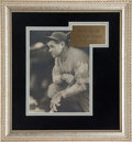 Autographs:Photos, 1931 Babe Ruth Signed Photograph by George Burke....