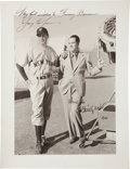 "Autographs:Photos, 1942 Gary Cooper & Christy Walsh Signed ""The Pride of theYankees"" Photograph...."